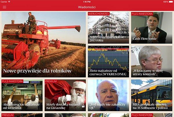 Puls Biznesu iPad app