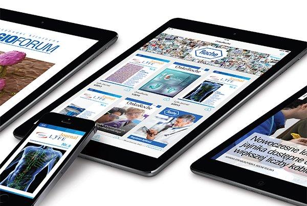 Roche app flyer