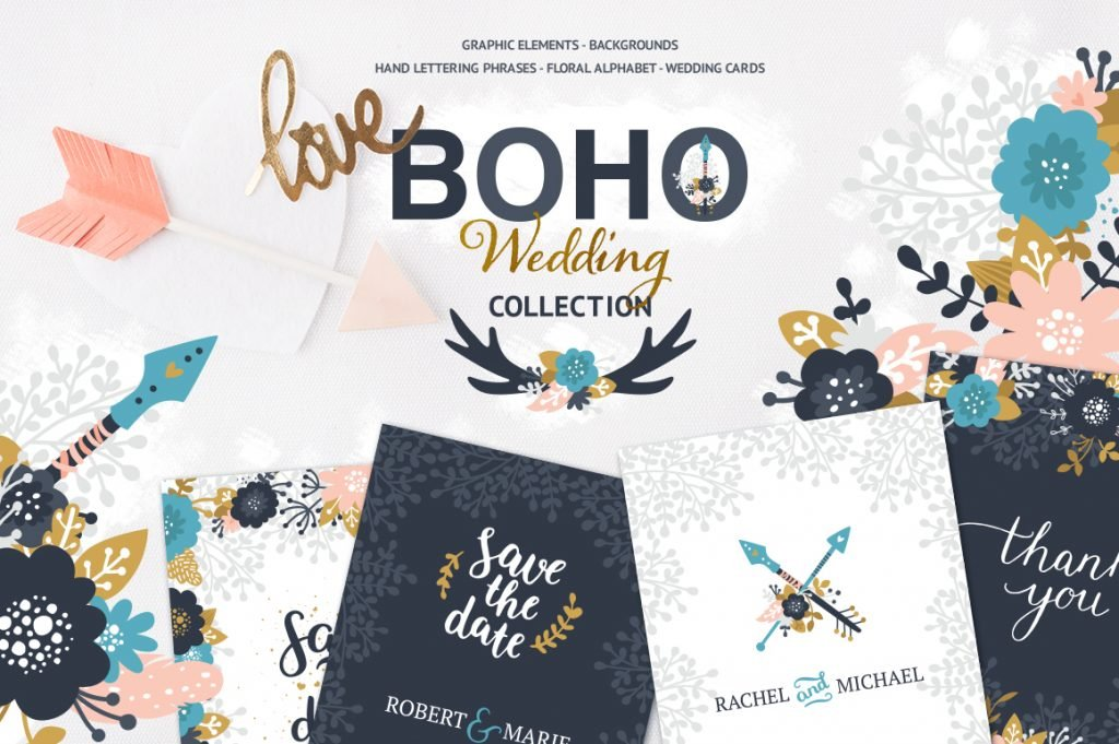 boho wedding design