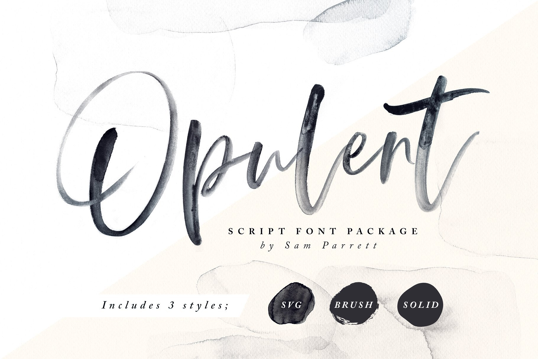 Opulent font svg graphic designer london