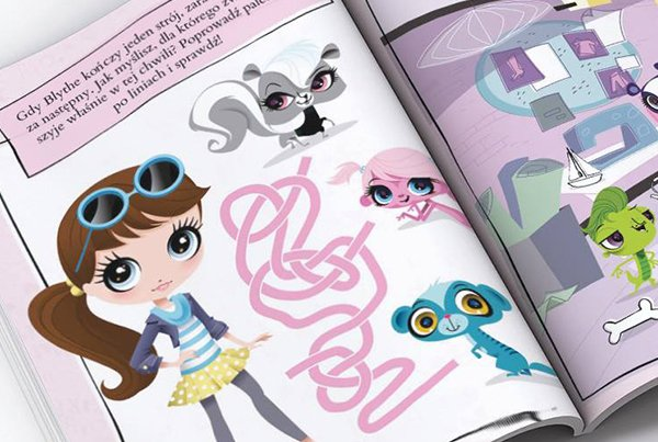 Littlest Pet Shop Activity Book