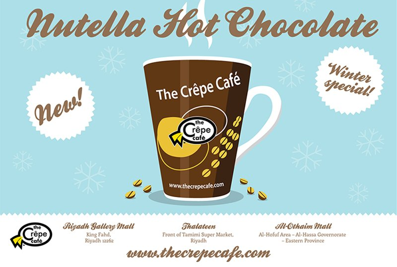 Crepe Coffee Hot Chocolate