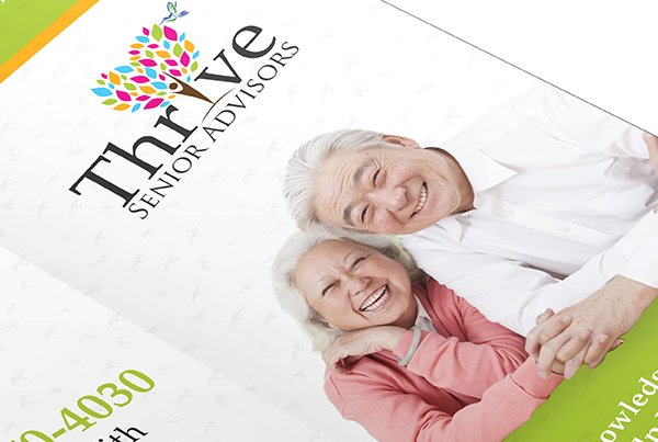 Eye-catching brochure for Thrive