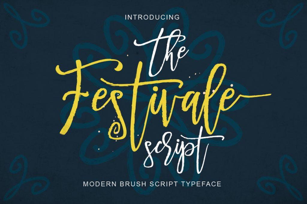 Festivale Script Font